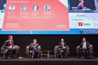 QuotedData host a panel discussion at Master Investor Show 2018 (PRNewsfoto/Master Investor Limited)