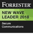 Wickr Named a Leader in Secure Communications