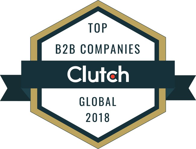 Top B2B services companies from around the world named by Clutch for 2018