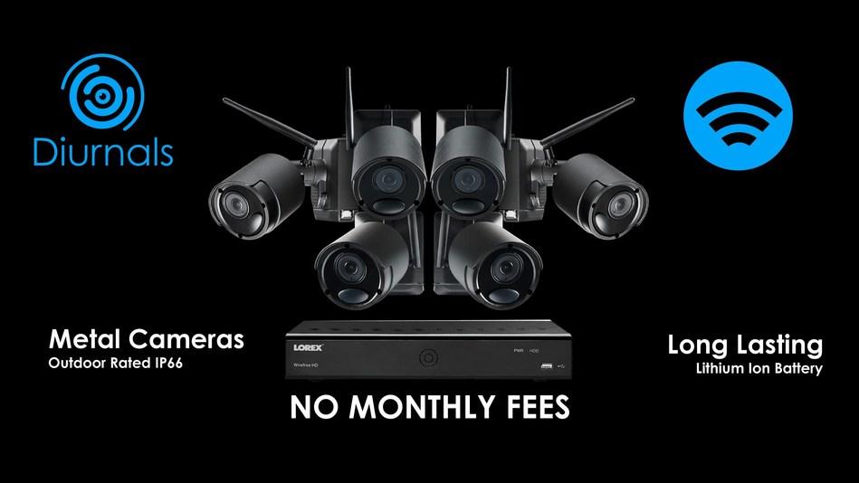 Lorex Security Cameras Black Friday (CNW Group/LOREX Technology Inc.)