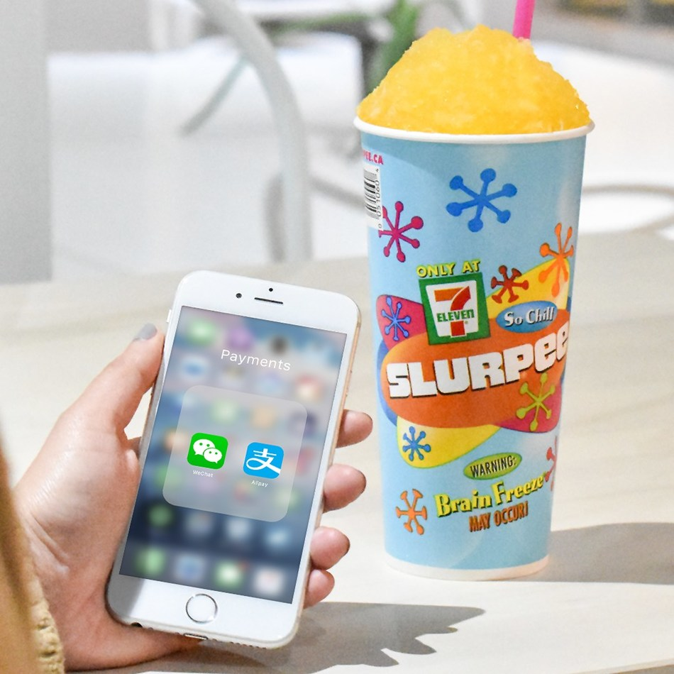 7-Eleven Becomes First Convenience Retailer Chain in Canada to Accept Alipay and WeChat Pay (CNW Group/7-Eleven Canada)