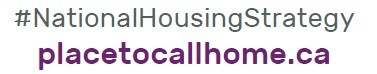 #NationalHousingStrategy (CNW Group/Canada Mortgage and Housing Corporation)