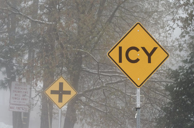 Be Aware Of The Following Winter Driving Hazards