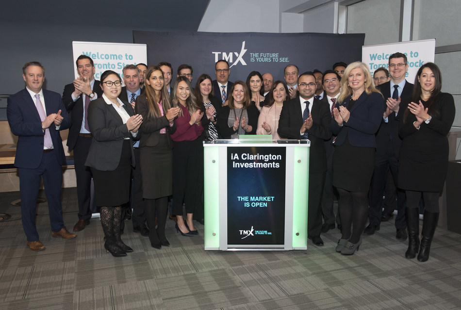IA Clarington Investments Inc. Opens the Market (CNW Group/TMX Group Limited)