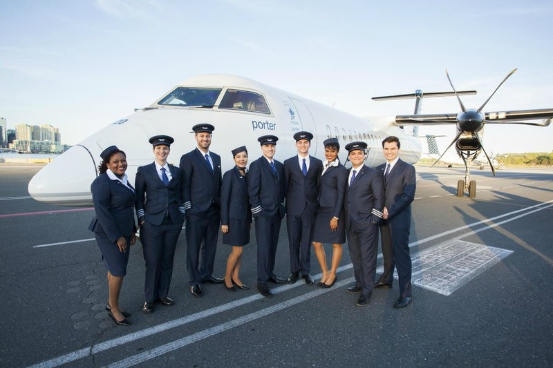 Porter Airlines is sponsoring a new mentorship program with The Northern Lights Aero Foundation to attract and retain more women in aviation and aerospace. (CNW Group/Porter Airlines Inc.)