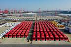 100 autobuses totalmente eléctricos entregados a Chile (PRNewsfoto/Yutong Bus)