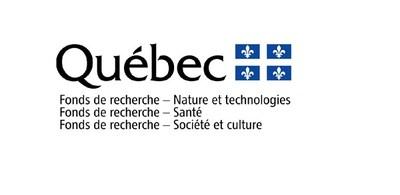 Logo : Fonds de recherche du Québec (CNW Group/Palais des congrès de Montréal)