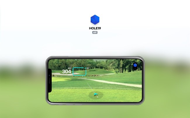 Augmented Reality from Hole19 to help you hit your shots with confidence