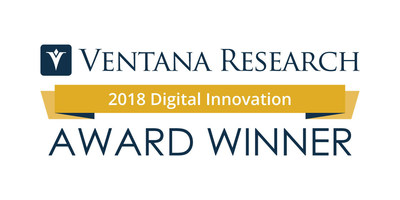 Kinaxis Self-Healing Supply Chain Wins Digital Innovation Award from Ventana Research (CNW Group/Kinaxis Inc.)