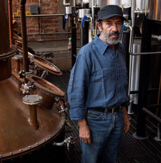 Felipe Camarena, the master distiller of G4 Tequila and the 'mad scientist' behind El Pandillo, the #1 rated tequila distillery in Mexico.