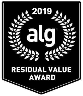 2019 ALG Residual Value Award