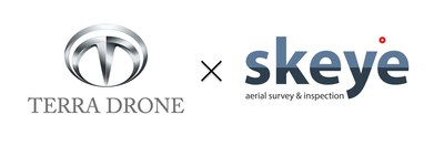 Terra Drone and Skeye logo