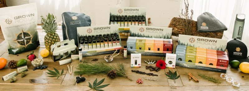 Grown Rogue Cannabis Products (CNW Group/Grown Rogue)