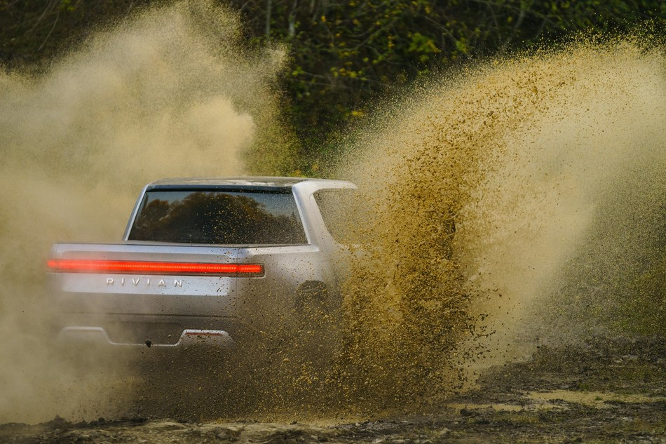 Rivian R1T Quad-motor all-electric pickup