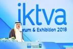 Saudi Aramco CEO Amin Nasser addressing 2018 IKTVA Forum in Dammam (PRNewsfoto/Saudi Aramco)