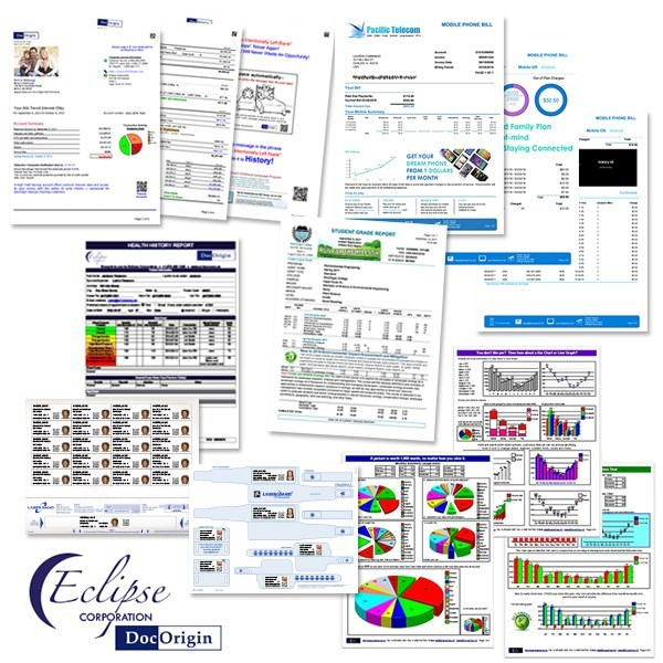 Dynamic enterprise forms, documents and labels for any industry. Improve presentation, branding and marketing, make them work for you!