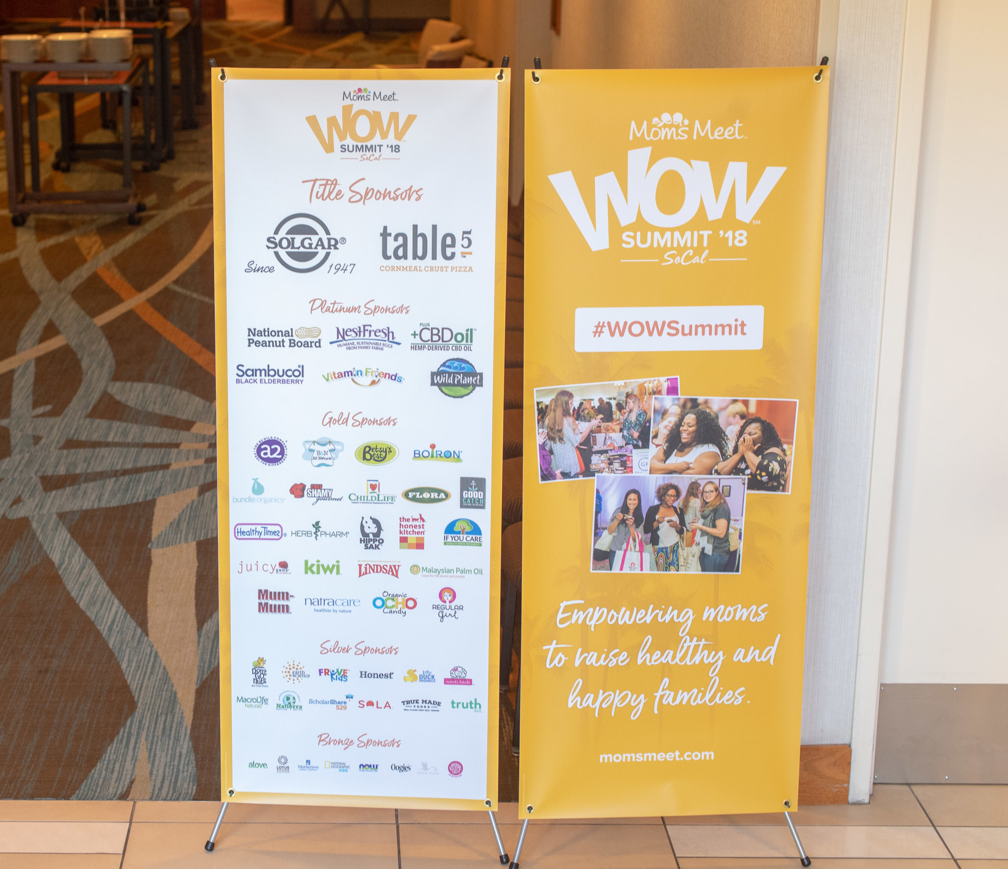Attendees loved learning about better-for-you brands in the WOW Summit Exhibit Hall