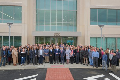 GS1 US employees move into new office headquarters in Ewing, NJ.