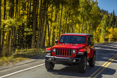 2019 Jeep® Wrangler Captures Motor Trend's 2019 SUV of the Year®
