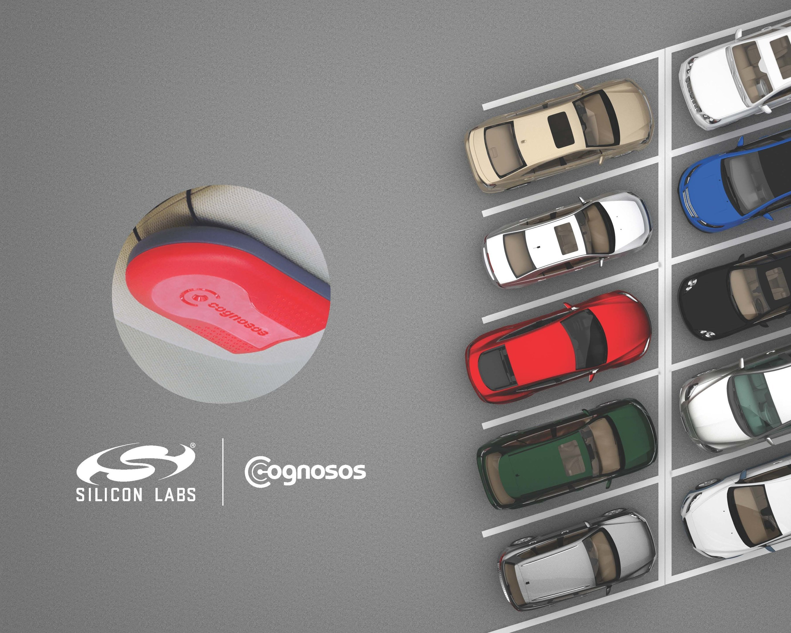 The Cognosos RadioTrax tag, built with Silicon Labs' Flex Gecko wireless SoC, pinpoints the location and movement history of cars stored in large parking lots and decks.