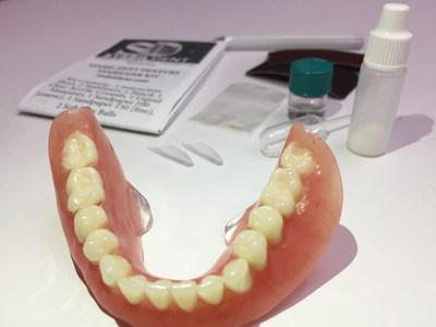 Stabil-Dent lower denture stabilizer kit.