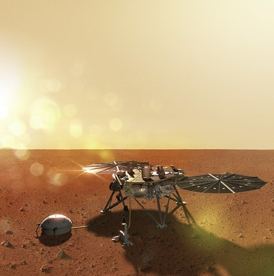 On November 26 at 12:52 p.m. MT, NASA's InSight Lander sent confirmation that it successfully landed on the surface of the Red Planet.