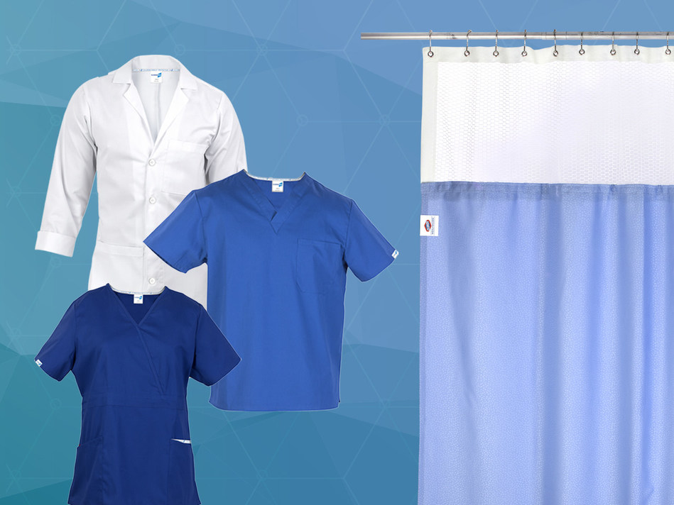 Prime Medical Turns Hospital Curtains Lab Coats And Scrubs Into Germ Fighting Shields