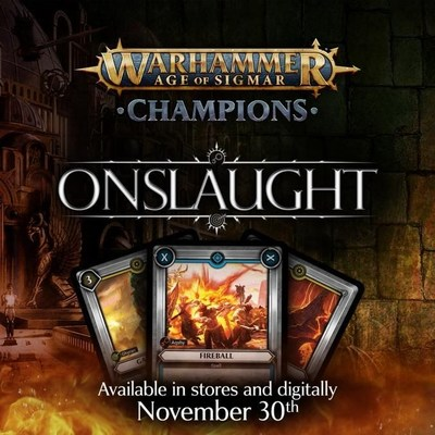 'Warhammer Age of Sigmar: Champions' first expansion will be unleashed in stores and on mobile platforms on November 30th (PRNewsfoto/PlayFusion)