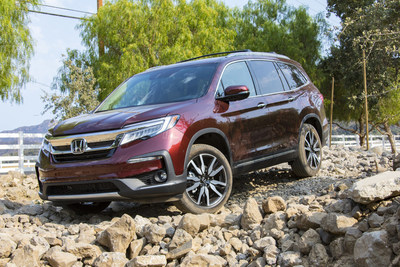 2019 Honda Pilot, Accord, Odyssey and Fit Achieve ALG Top Retained Value Ratings
