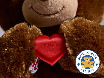 For every furry friend purchased in Build-A-Bear Workshop® stores and at buildabear.com from Giving Tuesday (Nov. 27) through Dec. 4, one teddy bear will be donated to the Marine Toys for Tots Foundation and given to a child in need—up to 20,000 bears.