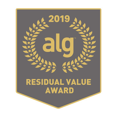 Subaru Earns Top Honor in 2019 ALG Residual Value Awards; Continues Reign as