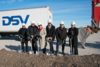 Ground-breaking DSV Milton, Ontario Canada *Photo courtesy of Herman Custodio (CNW Group/DSV Global Transport and Logistics)