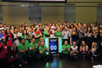 Santa Comes to Bay Street Closes the Market (CNW Group/TMX Group Limited)