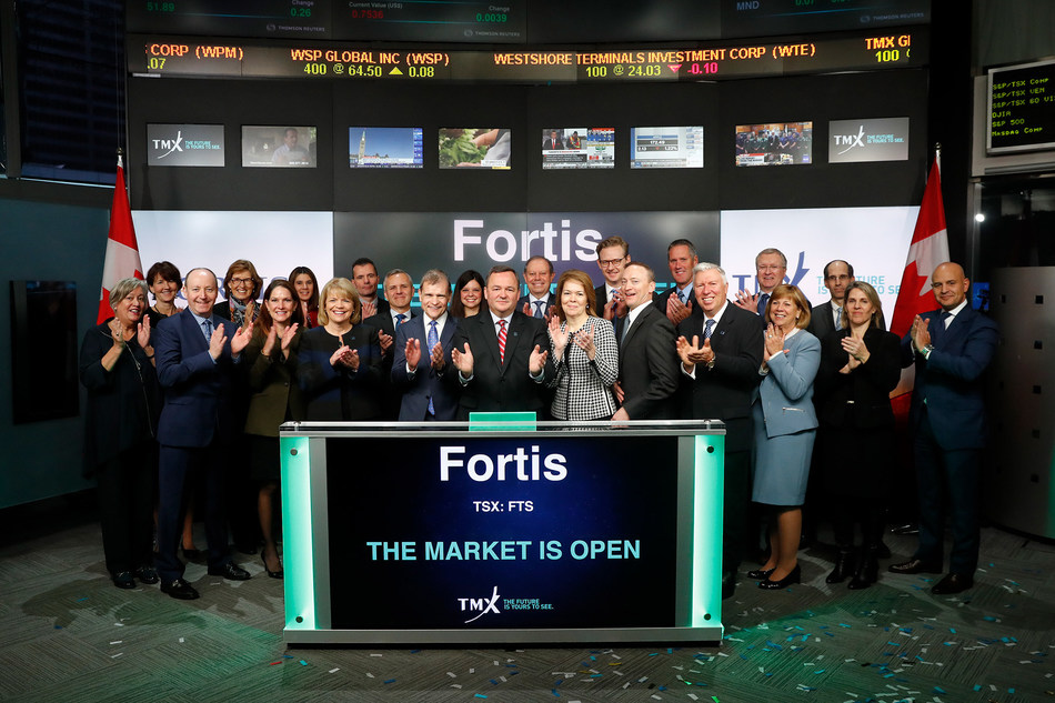 Fortis Inc. Opens the Market (CNW Group/TMX Group Limited)