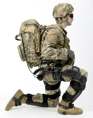 "The Lockheed Martin ONYX Exoskeleton, shown here, along with the company's Miniature Hit-to-Kill missile interceptor, were recognized by Popular Science in its 2018 ""Best of What's New"" awards."