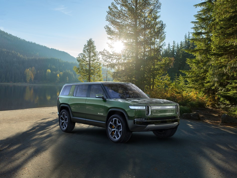 Rivian R1S 3-row all-electric SUV