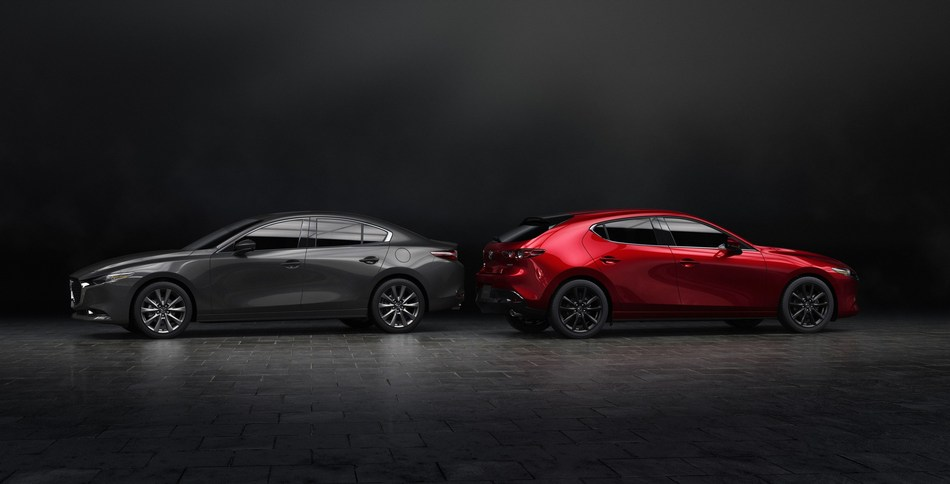 All-New Mazda3 (North American specifications) (CNW Group/Mazda Canada Inc.)