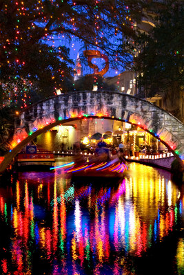 San Antonio's River Walk lights up – literally – during the holidays with more than 2,000 luminarias, a traditional Mexican Christmas lantern consisting of a candle set in sand inside a small paper bag. The centuries-old tradition takes place this year December 2-4, 9-11 and 16-18.