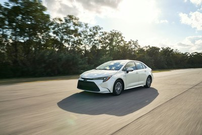 The 2020 Corolla Hybrid, like its gas-powered siblings, delivers a highly-satisfying driving experience, along with the brand's latest advances in comfort and multimedia technology.