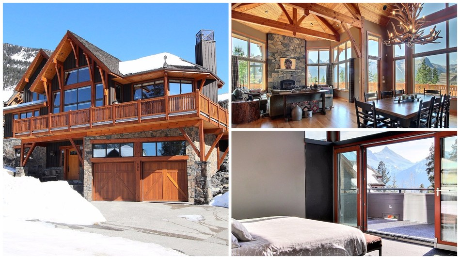MLS® 47647 | 808 Silvertip Heights, Canmore, Alberta, T1W 3K9 | Royal LePage Rocky Mountain Realty | $2,749,500 |  Listing agents: Brad Hawker & Drew Betts (CNW Group/Royal LePage)