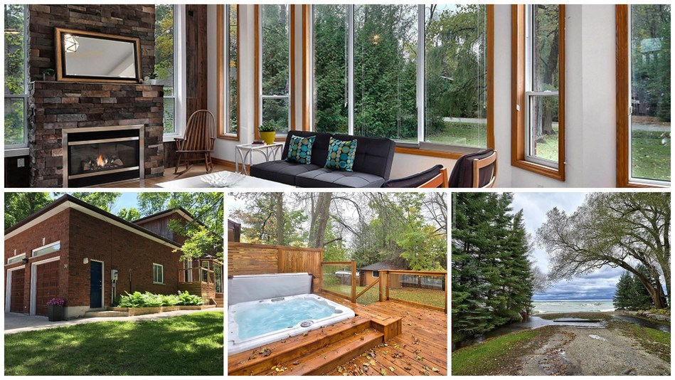 MLS® # 160395 | 30 York Street, Collingwood, ON, L9Y 3Z1 (property located near Blue Mountain) | $719,000 | Royal LePage Locations North | Listing agents: LeeAnn Matthews and Chris Keleher (CNW Group/Royal LePage)