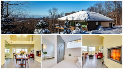 MLS® 27255696 | 848, Ch. Driver, Sutton, QC | Royal LePage Action Courtier | $649,500| Listing broker: Sylvie Careau (CNW Group/Royal LePage)