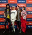 (From left) Ty Hunter, Erika Jayne, DJ Raiden, YounHee Park