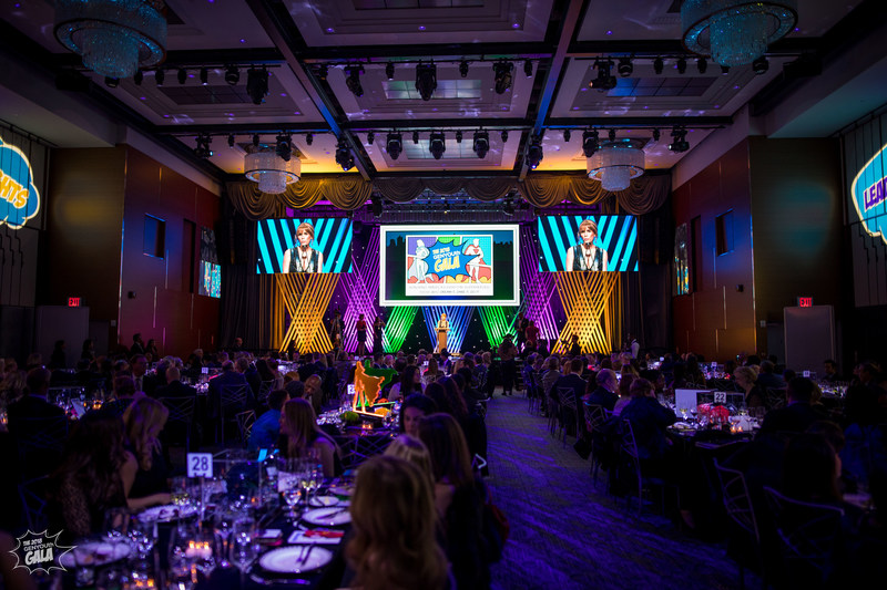 "GENYOUth Gala, New York City, November 27, 2018: ""Tonight we're saluting Everyday Superheroes -- those men and women from all walks of life who improve the lives of American kids."" -- GENYOUth CEO, Alexis Glick welcomes guests with opening remarks"