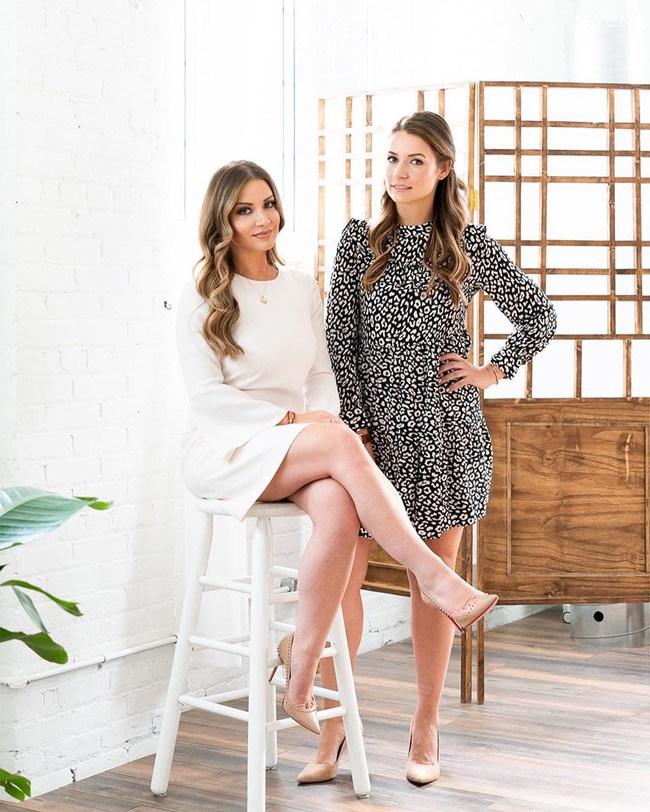Monica Abramov and Anastassia Boguslavskaya Lunata Hair Founders