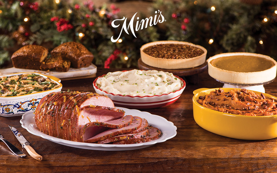 Mimis Christmas Holiday Ham Feast To Go 2020 Home For The Holidays: Mimi's Celebrates The Season With Chef