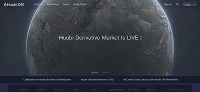 Huobi Derivative Market