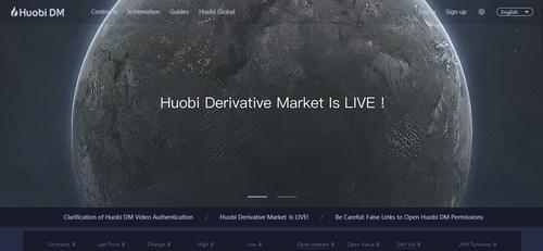 Huobi Derivative Market (PRNewsfoto/Huobi)