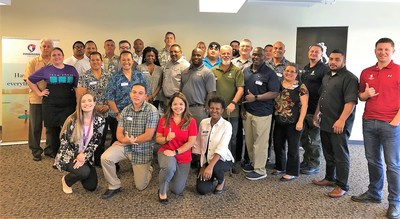 Veterans learn about job commercial airline job opportunities through Wounded Warrior Project event
