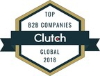 Top B2B Companies from around the world named by research firm Clutch.